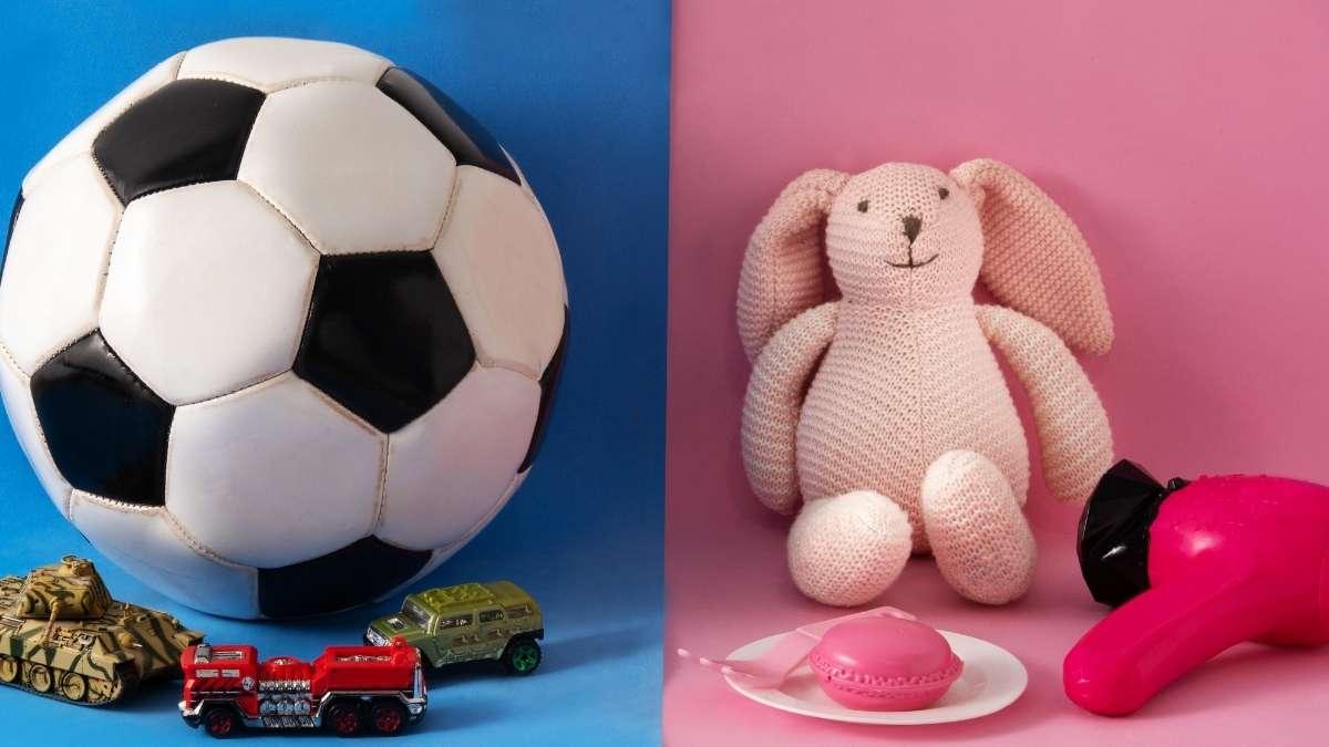 brinquedos de menino e de menina
